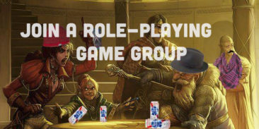 Join a Role-Playing Game Group