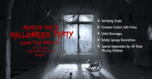 MaxFun NYC Halloween party