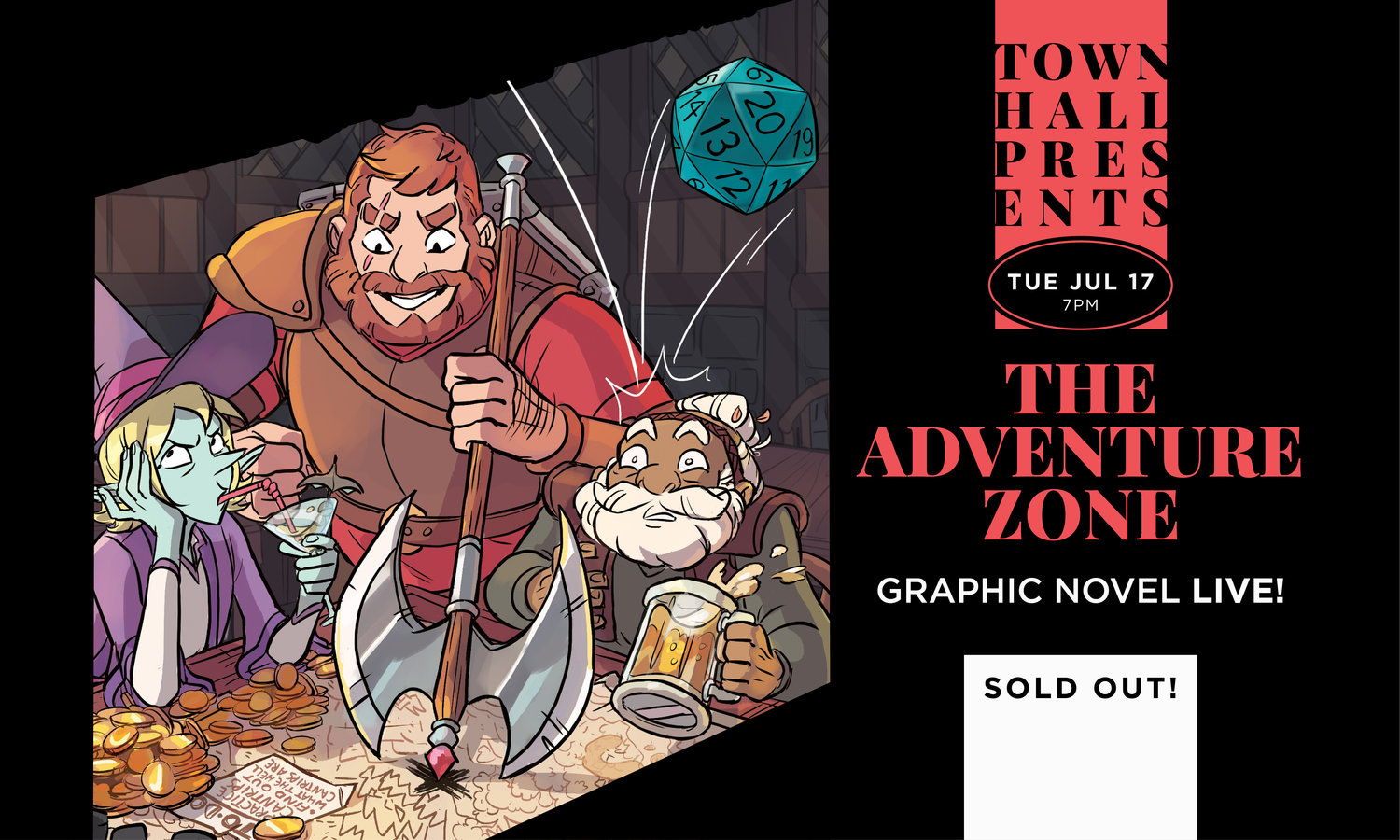 the adventure zone graphic novel live afterparty maxfun nyc