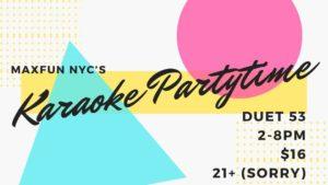 MaxFun NYC Karaoke