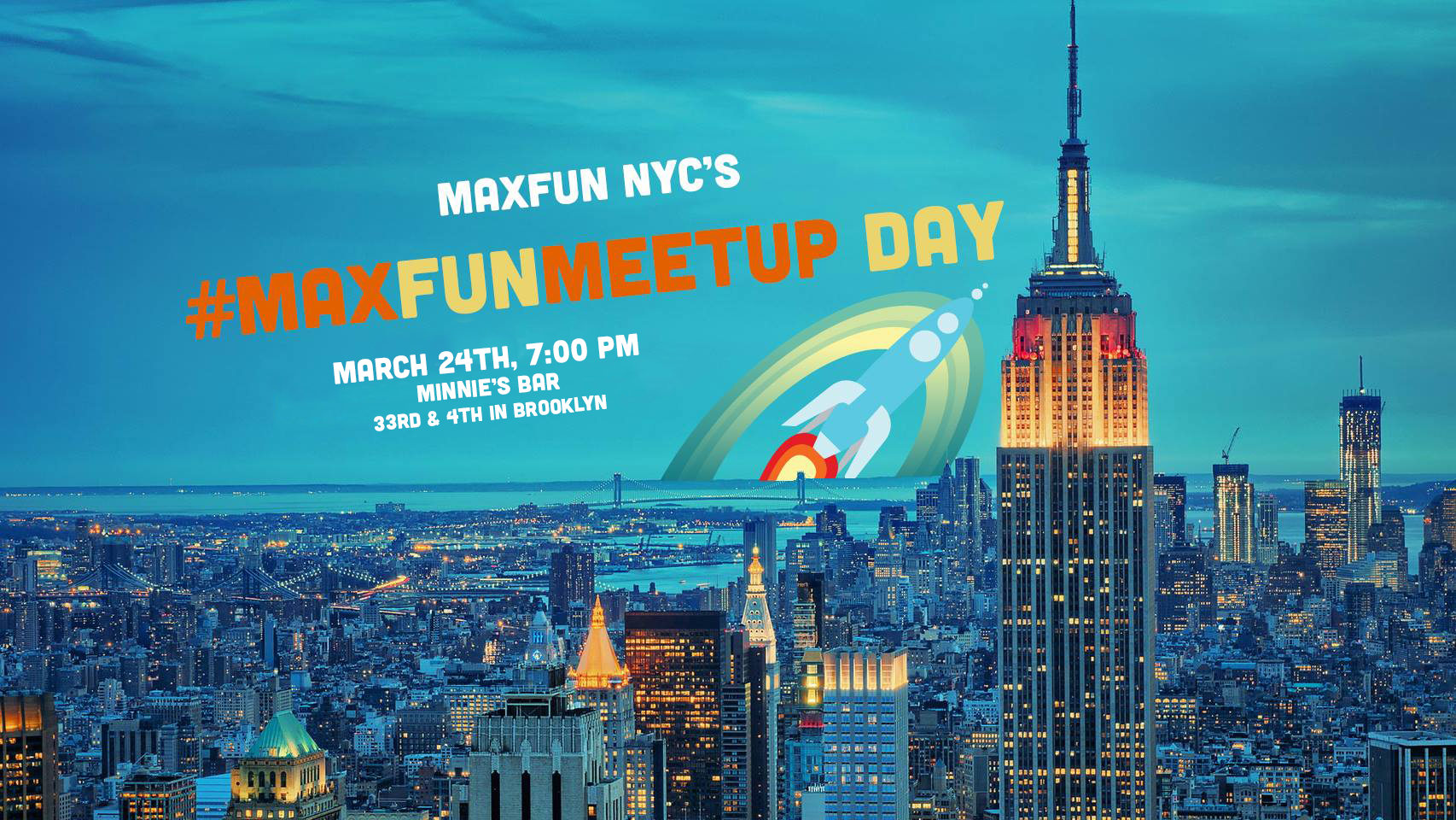 NYC's MaxFunMeetupDay 2020